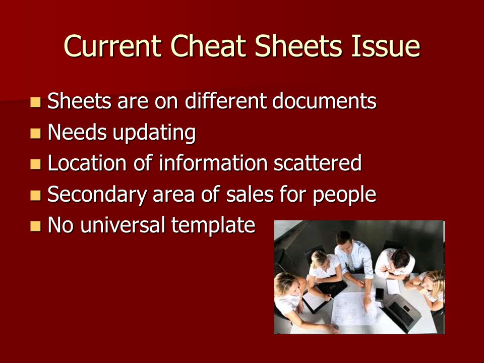 Current Cheat Sheets Issue