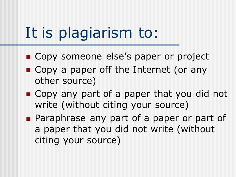 Research papers no plagiarism