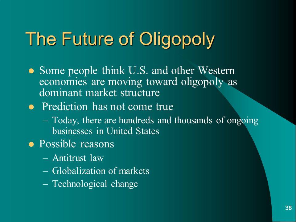 The Future of Oligopoly