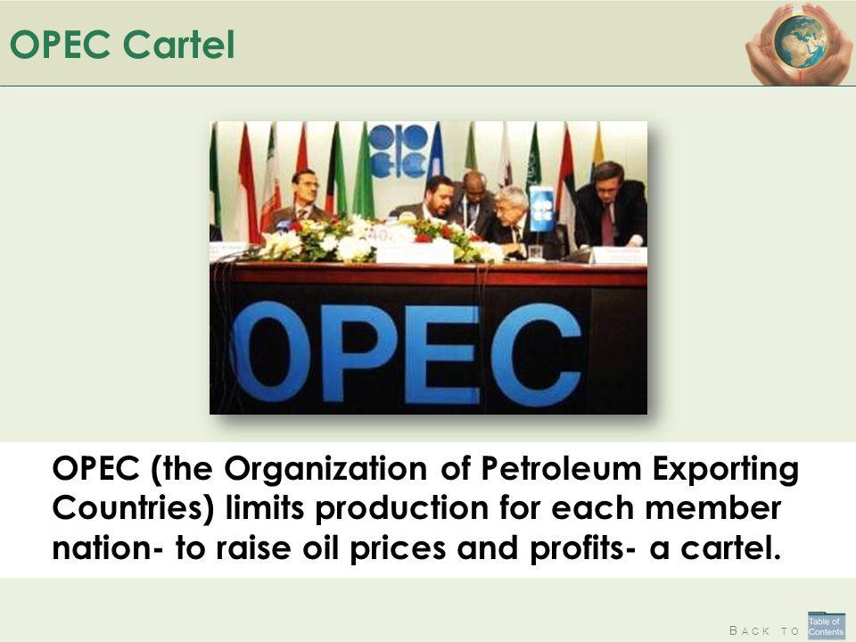 OPEC Cartel
