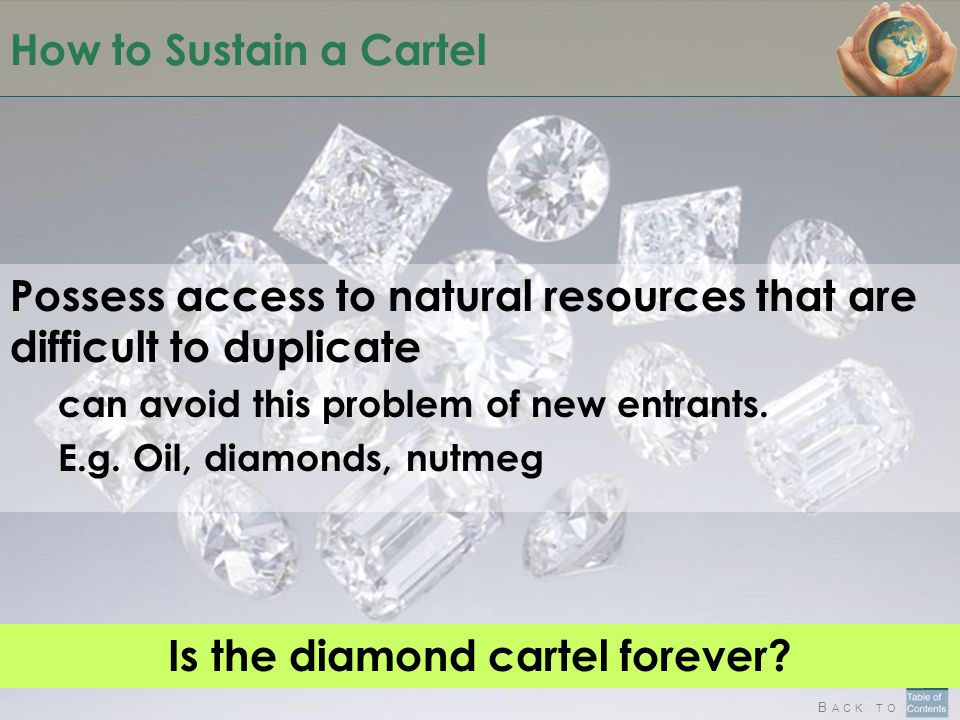 Is the diamond cartel forever