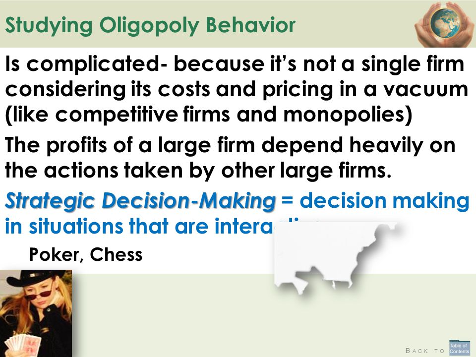 Studying Oligopoly Behavior