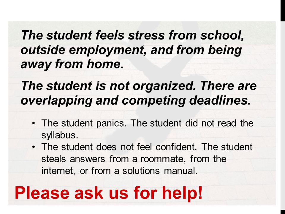 Please ask us for help! Other common conversations: