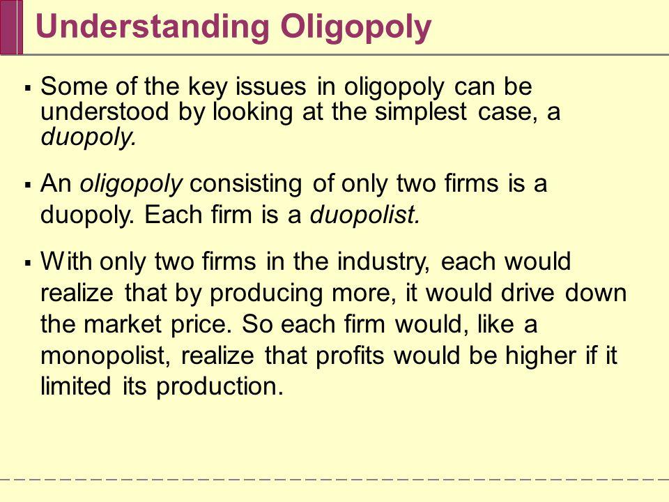 Understanding Oligopoly