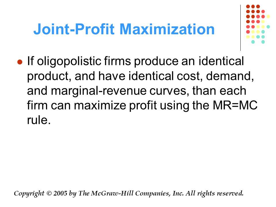 Joint-Profit Maximization