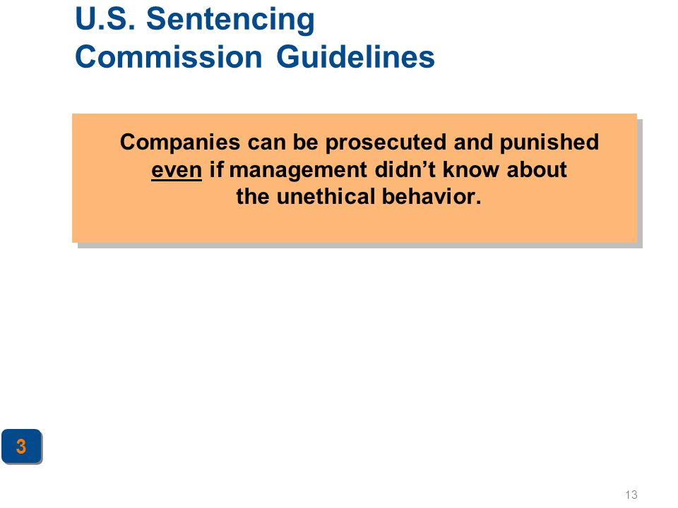 U.S. Sentencing Commission Guidelines