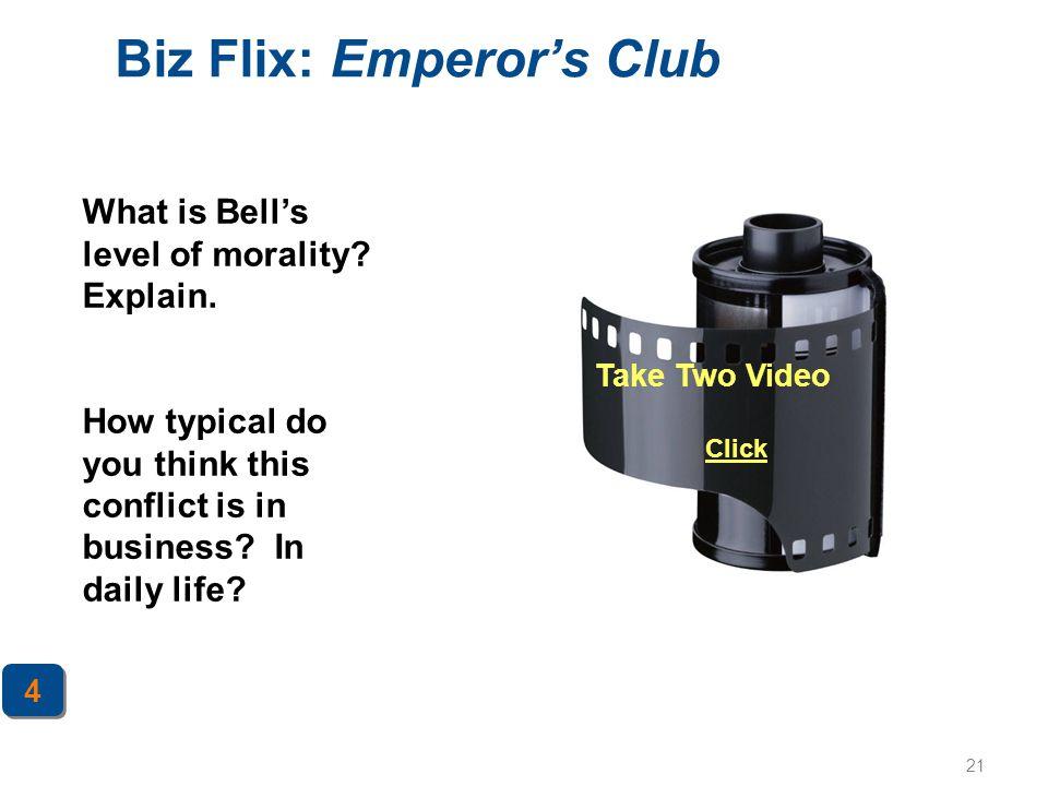 Biz Flix: Emperor's Club