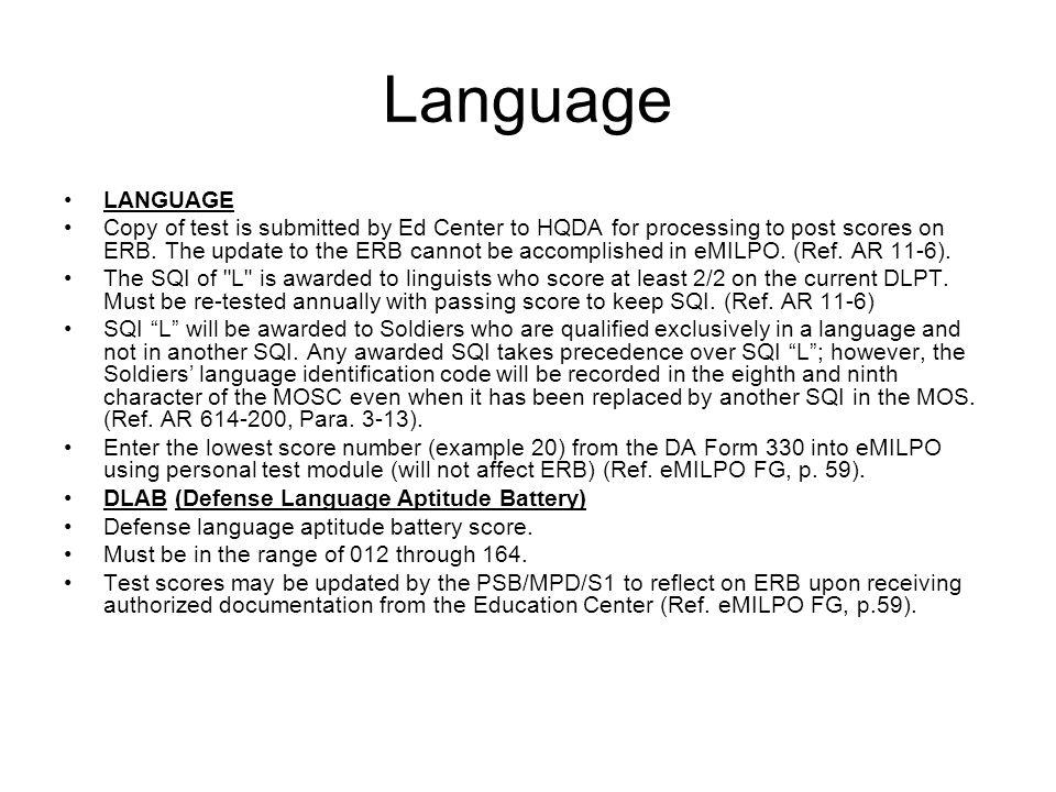 Language LANGUAGE.