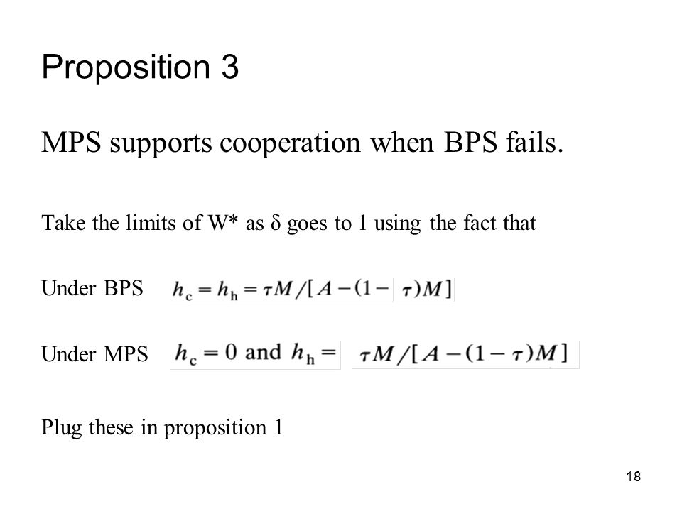 Proposition 3 MPS supports cooperation when BPS fails.
