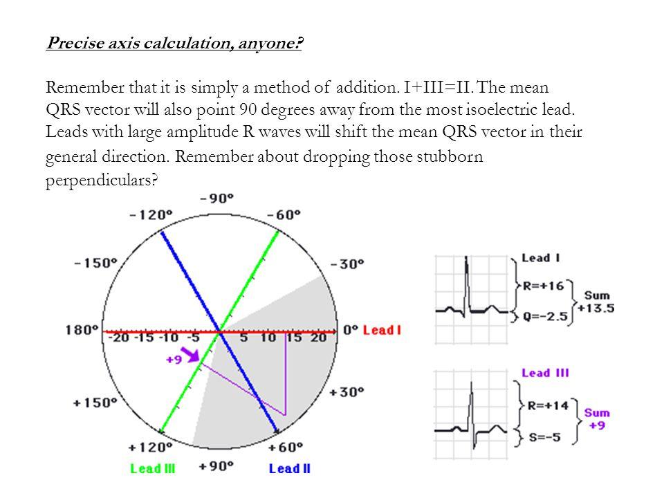 Precise axis calculation, anyone