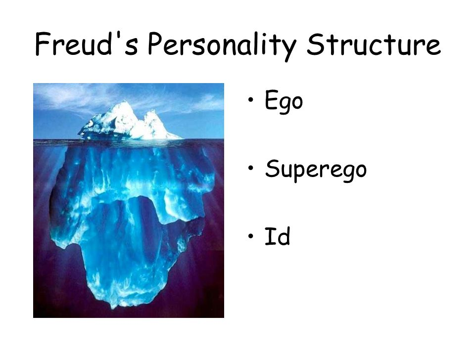 Freud s Personality Structure