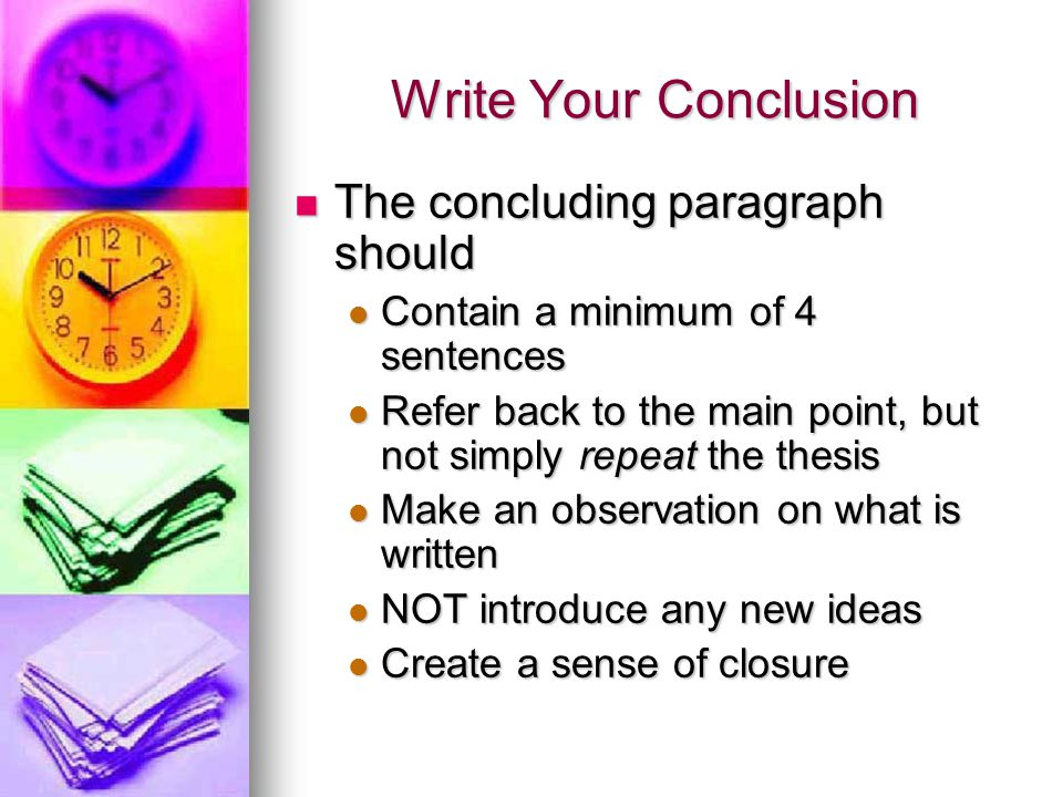 how to make a level 4 paragraph