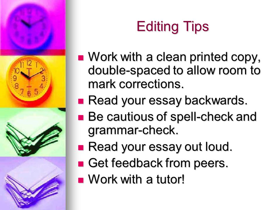 "check essay for grammar What this handout is about when you ask esl students what they would like to work on, they will often say that they'd like you to check their grammar ""checking."