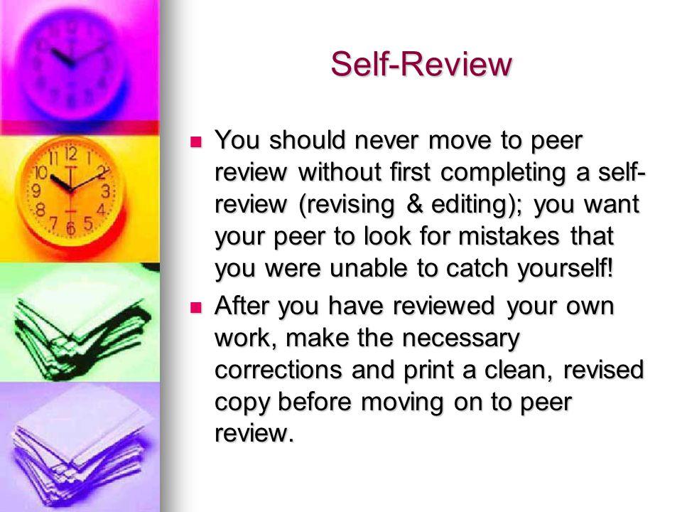 Self-Review