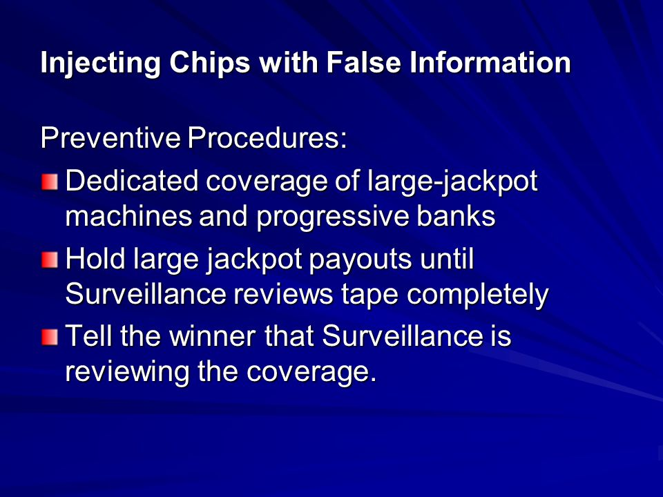 Injecting Chips with False Information