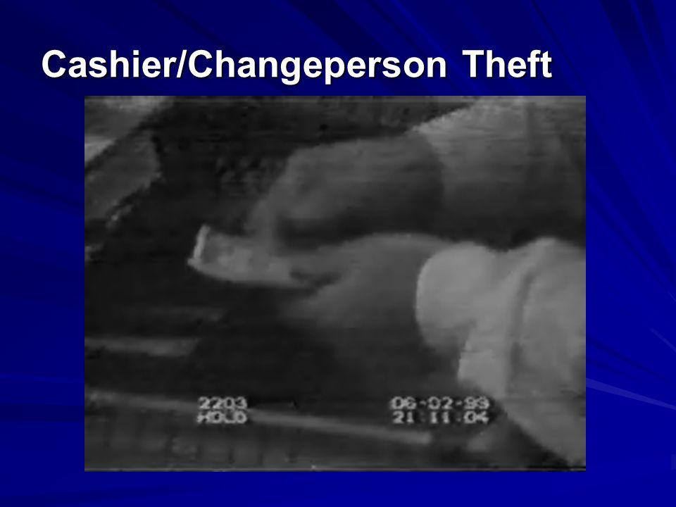 Cashier/Changeperson Theft
