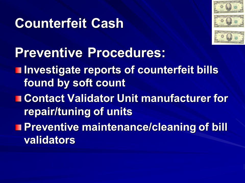Preventive Procedures: