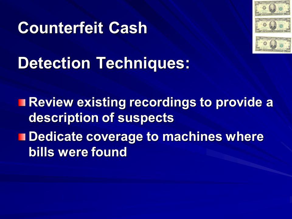 Detection Techniques: