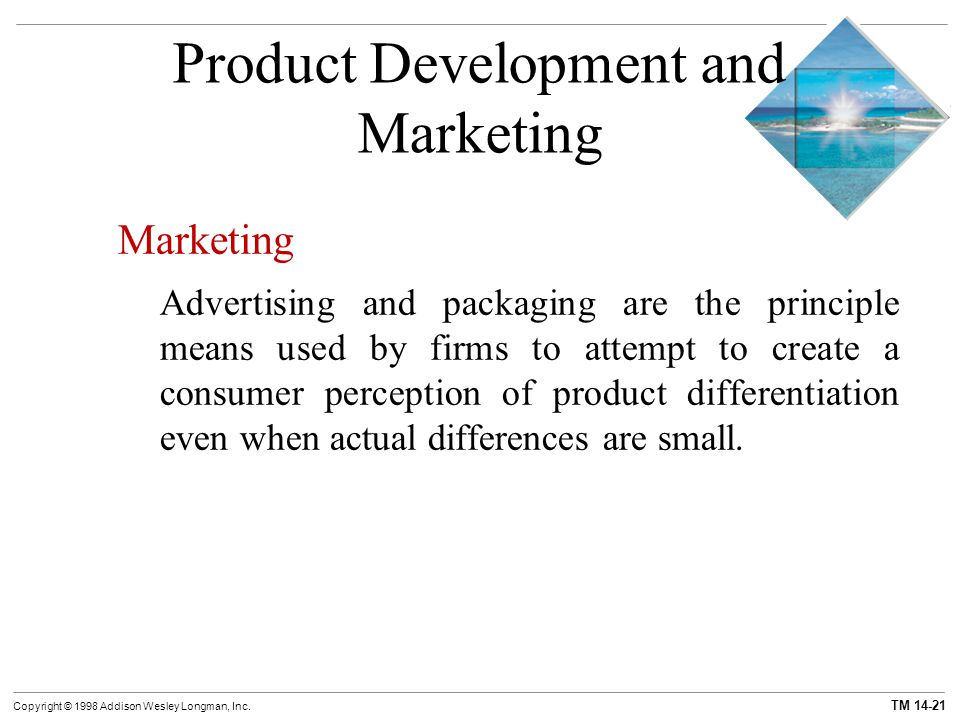 Chapter 14 monopolistic competition and oligopoly ppt for Consumer product design companies
