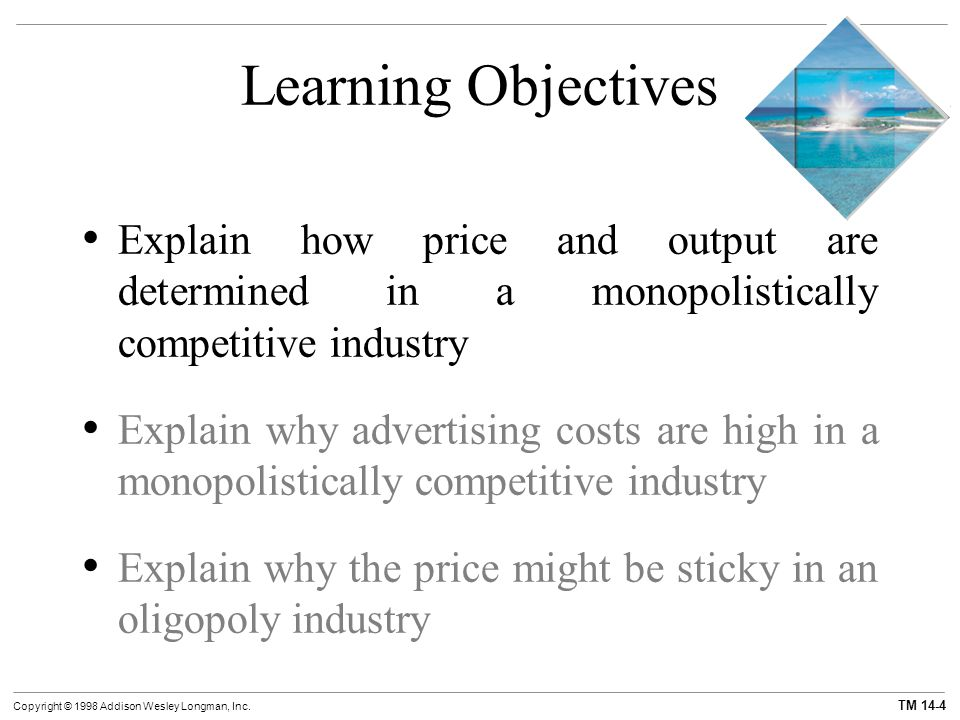 explain why perfect competition might be Explain why monopolistically competitive firms frequently prefer non-price competition to price competition 3 why might price collusion occur in oligopolistic industries.