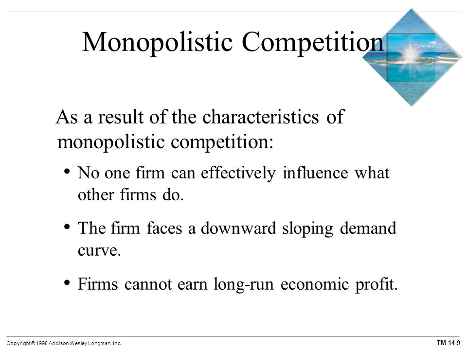 monopolistic firms Monopolistic competition is starbuckis starbuck s's coffee really coffee really firms can't price above the market price (monopolistic less elastic than competition q same units d (competition.