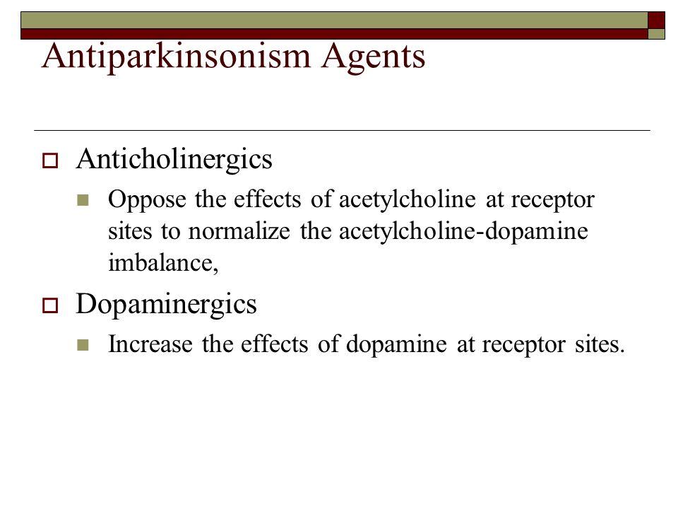 Antiparkinsonism Agents