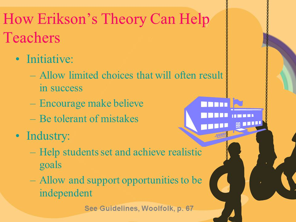 How Erikson's Theory Can Help Teachers