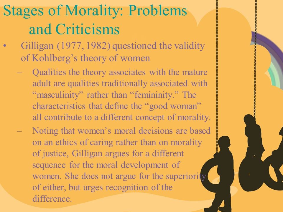 Stages of Morality: Problems and Criticisms