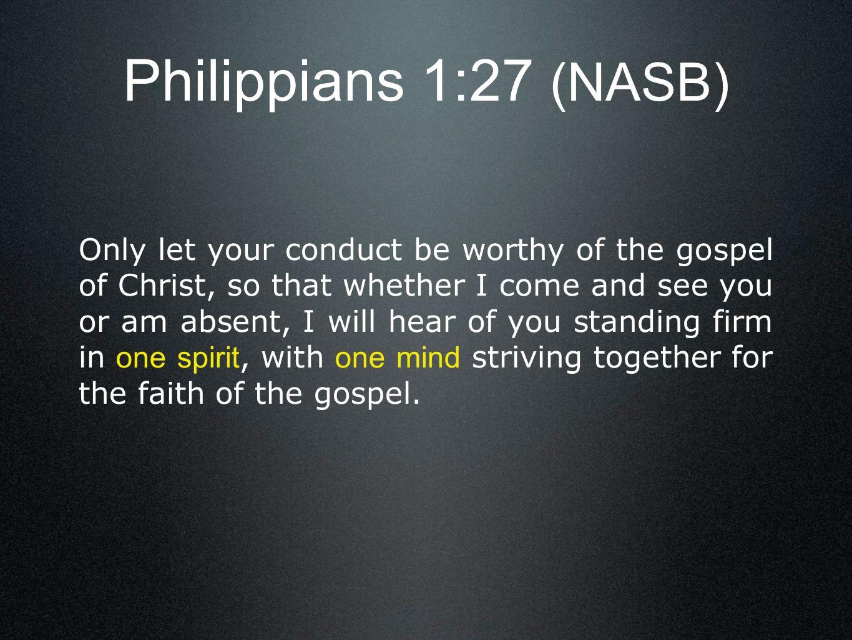 Philippians 1:27 (NASB)