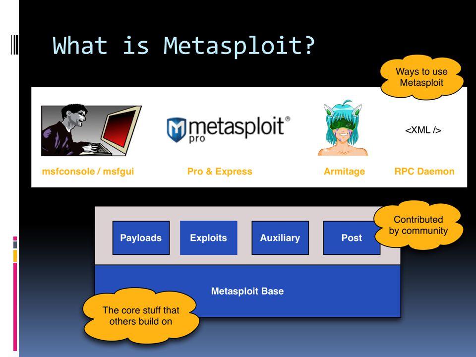 What is Metasploit