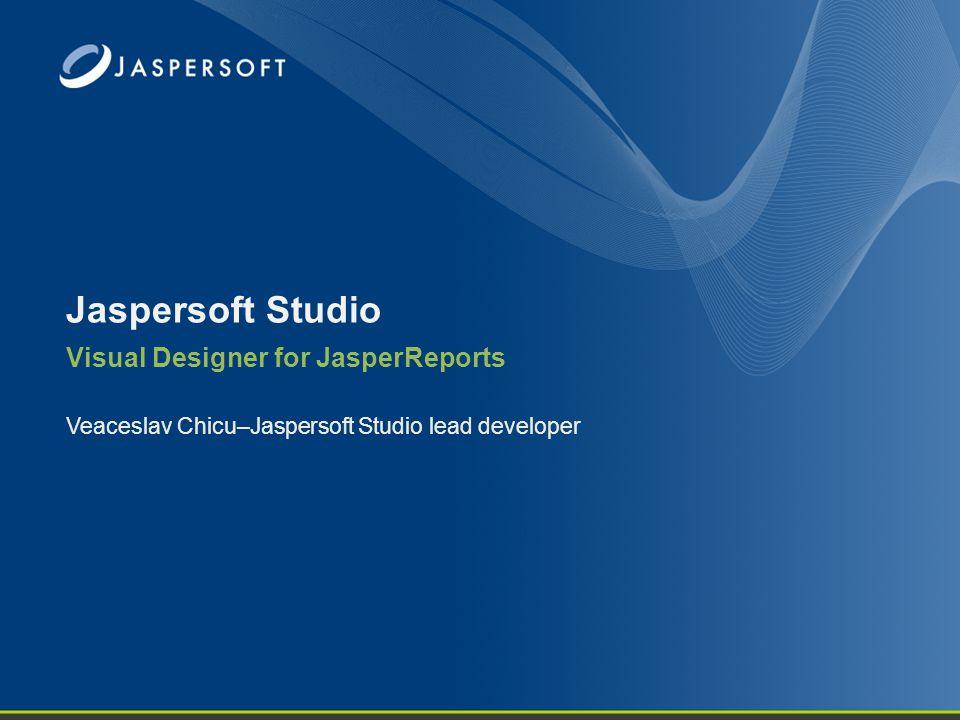 Visual Designer for JasperReports