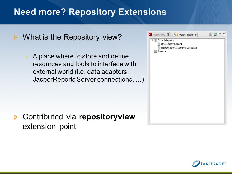 Need more Repository Extensions