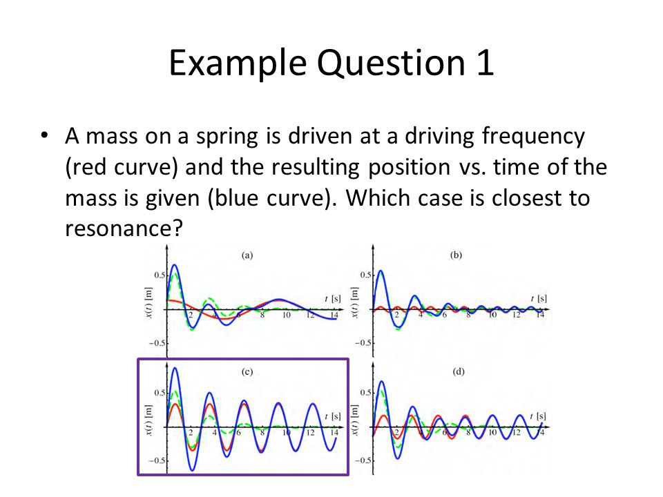 Example Question 1