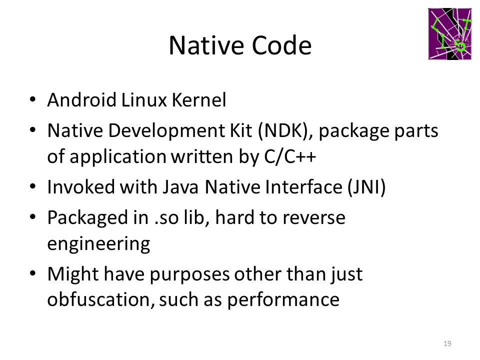 Native Code Android Linux Kernel