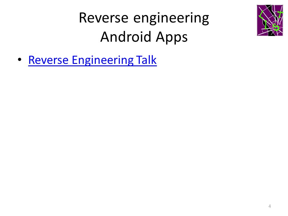 Reverse engineering Android Apps