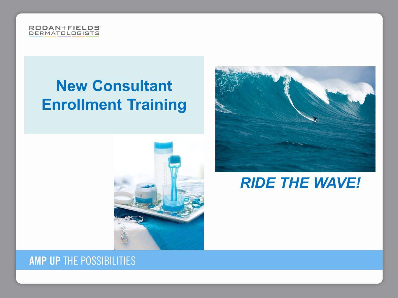 New Consultant Enrollment Training