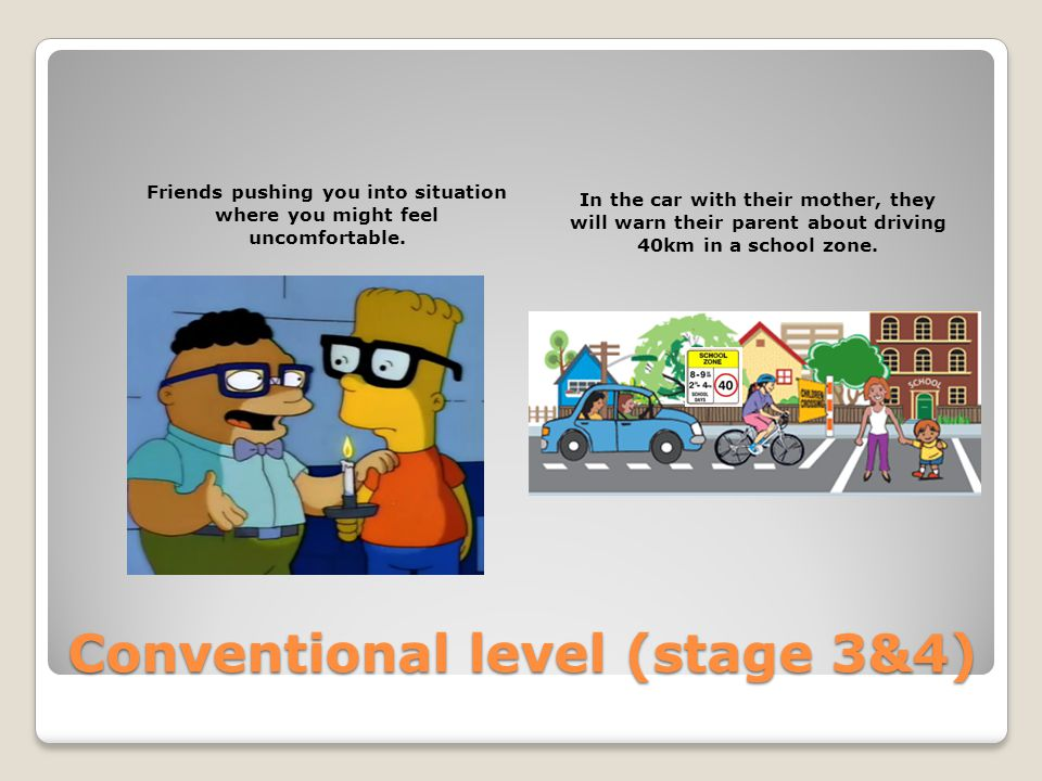 Conventional level (stage 3&4)