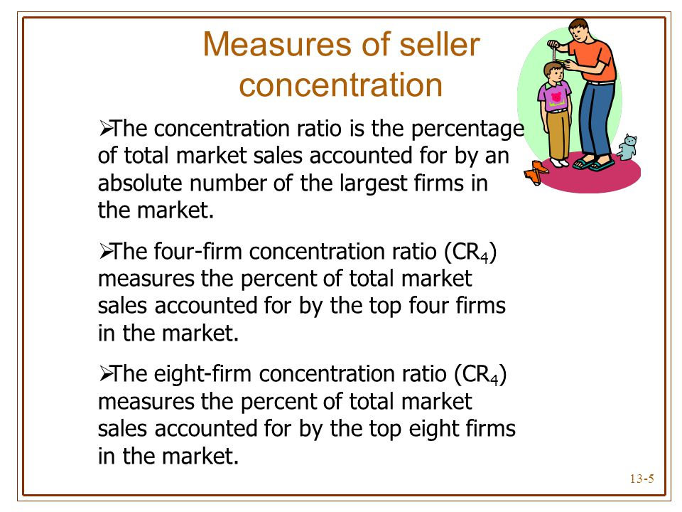 Measures of seller concentration