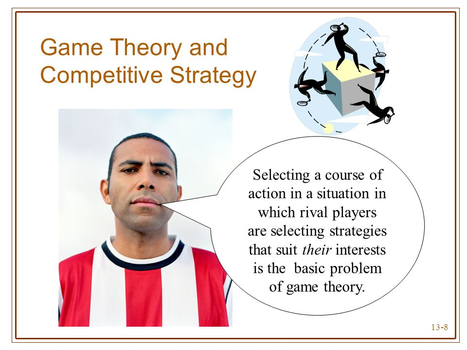 game theory in online game market The top 25 gaming companies account for 50% of the industry's profits   bringing your a-game: what game theory can teach us about.