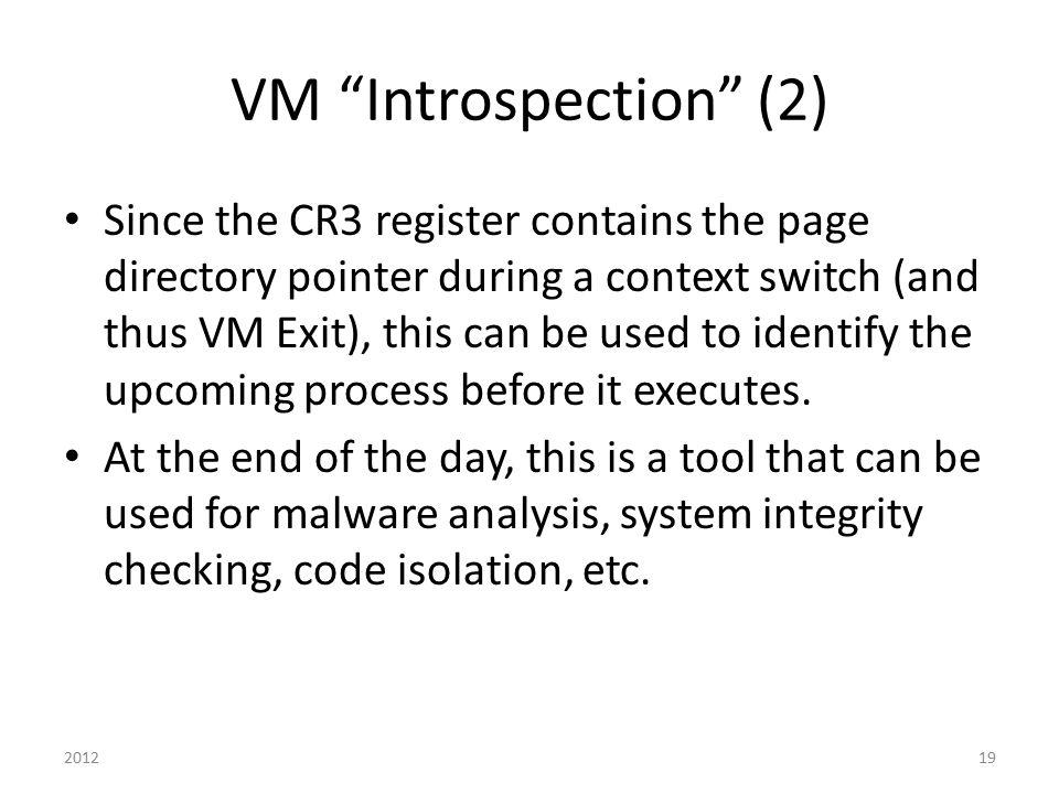 VM Introspection (2)
