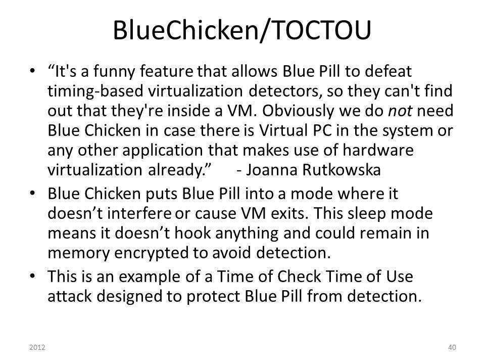 BlueChicken/TOCTOU