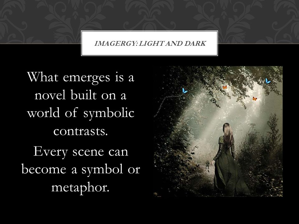 IMAGERGY: Light and dark