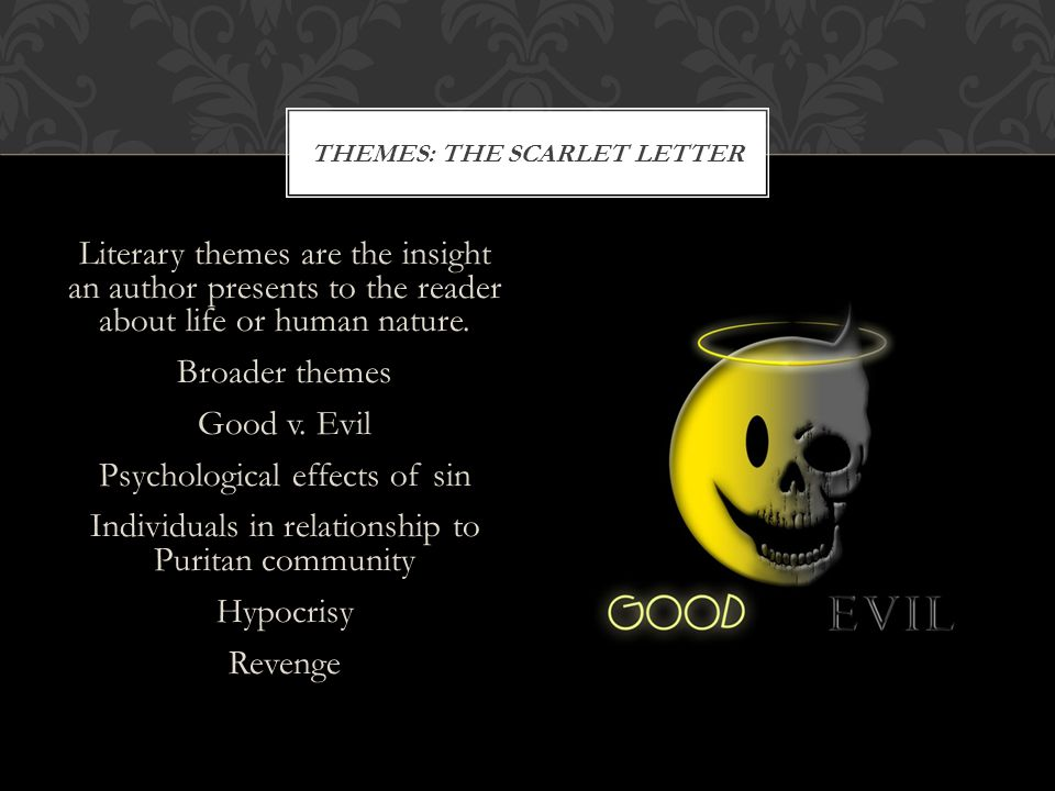 THEMES: The Scarlet Letter