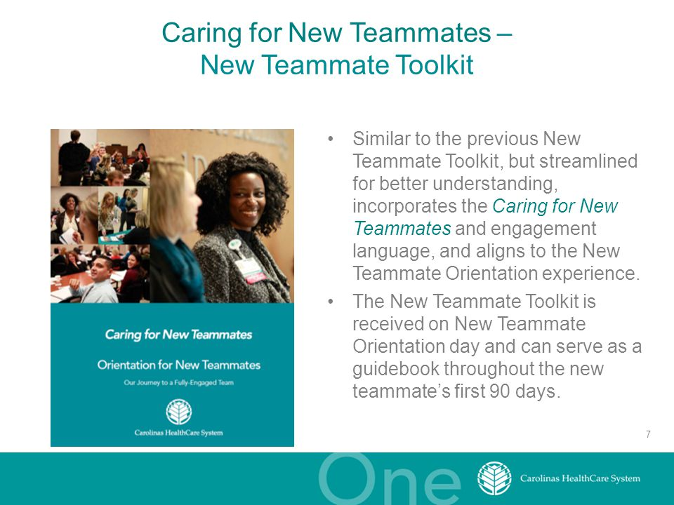 Caring for New Teammates – New Teammate Toolkit