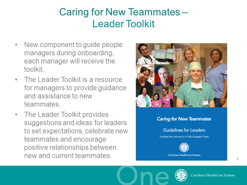 Caring for New Teammates – Leader Toolkit