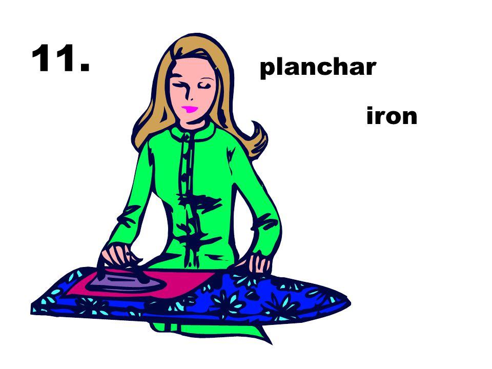11. planchar iron
