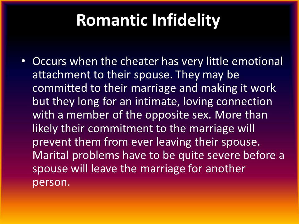 Romantic Infidelity