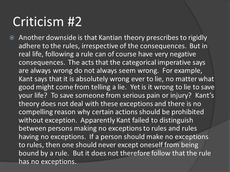 Criticism #2