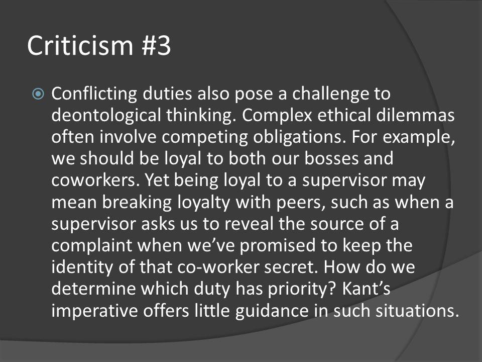 Criticism #3