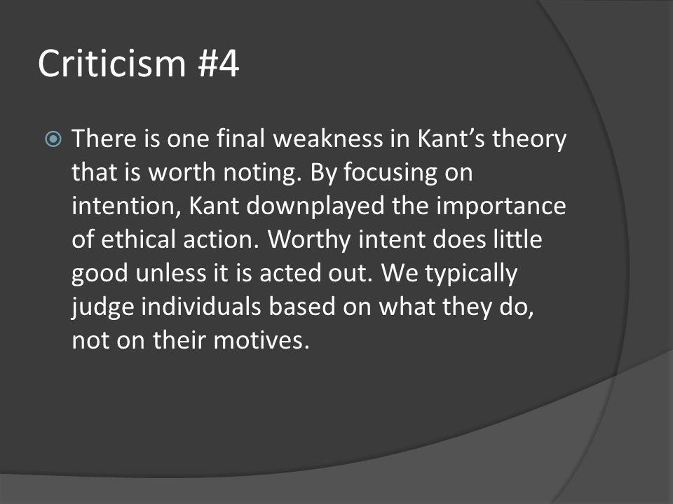 Criticism #4